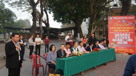 PGS.TS. Trần Thanh Đức - Phó Hiệu trưởng phụ trách phát biểu